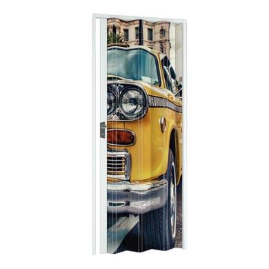 Porta a soffietto Car in pvc multicolore L 89.5 x H 214 cm