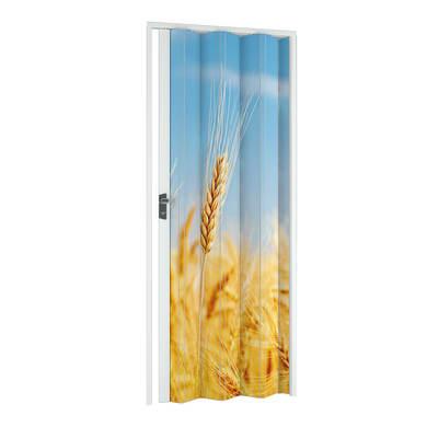 Porta a soffietto Grain in pvc multicolore L 89.5 x H 214 cm