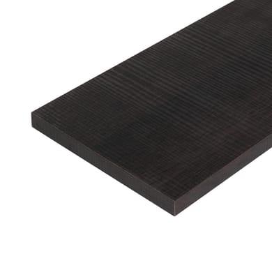Ripiano melaminico ARTENS 60 x 30 cm Sp 18 mm , rovere scuro
