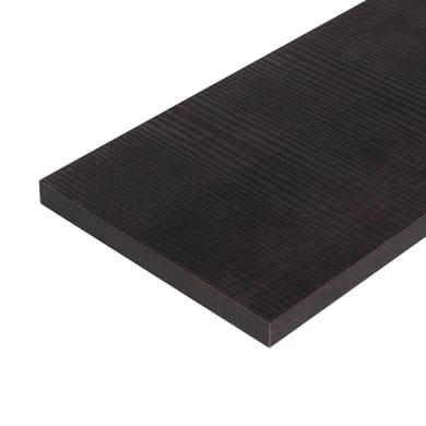 Ripiano melaminico ARTENS 60 x 40 cm Sp 18 mm , rovere scuro