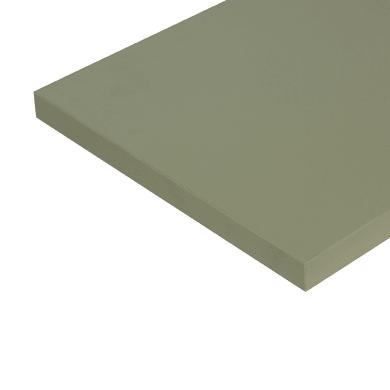 Ripiano melaminico ARTENS 100 x 30 cm Sp 25 mm , verde