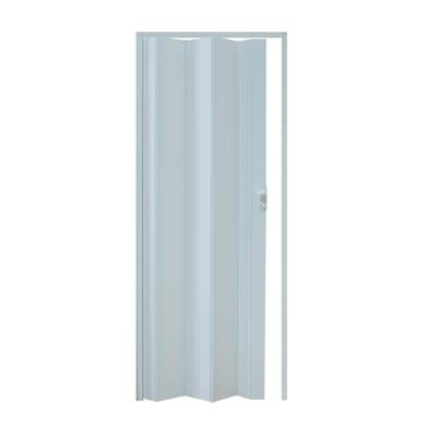 Porta a soffietto Vera in pvc bianco L 89.5 x H 214 cm