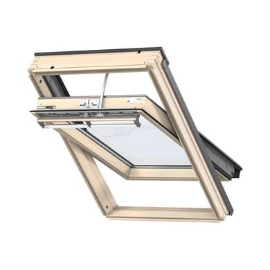 Finestra da tetto (faccia inclinata) VELUX GGL CK02 307021 elettrico L 55 x H 78 cm pino
