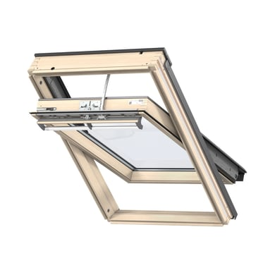 Finestra da tetto (faccia inclinata) VELUX GGL PK25 307021 elettrico L 94 x H 55 cm pino