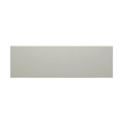 Coprifilo in legno carta<multisep/>mdf bianco L 2250 x P 10 x H 65 mm