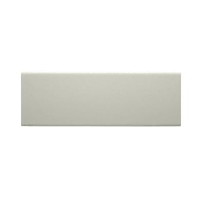 Coprifilo in legno mdf con rivestimento in carta bianco L 2250 x P 25 x H 65 mm