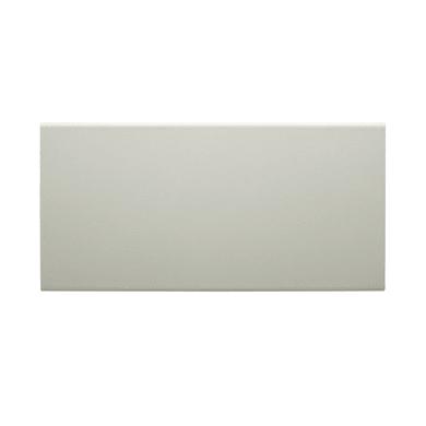 Paracolpi in mdf bianco L 2.2 m x H 100 x Sp 10 mm