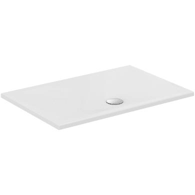 Piatto doccia ceramica Strada 90 x 70 cm bianco