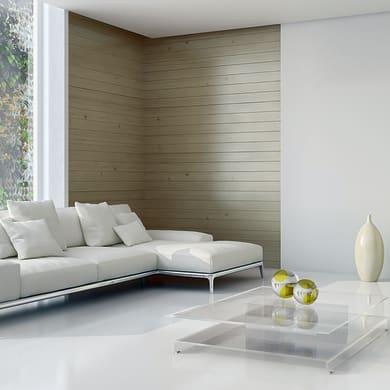 Perlina abete verniciato spazzolato grigio 1° scelta L 200 x H 12 cm Sp 12 mm