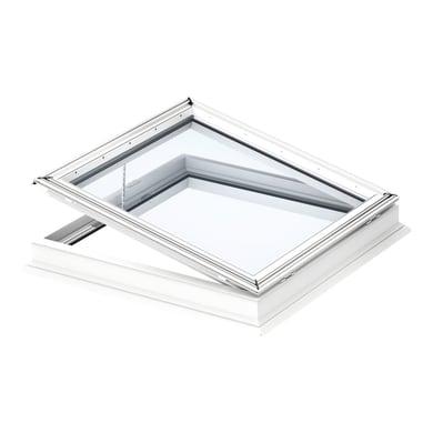 Finestra da tetto (faccia piana) VELUX CVP 0673QV elettrico L 80 x H 80 cm bianco