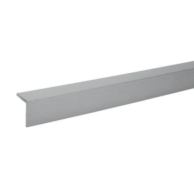 Paraspigolo in alluminio L 2.2 m x H 20 x Sp 20 mm