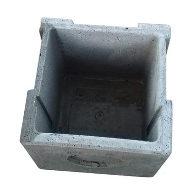 Pozzetto in cemento L 30 x H 30 cm