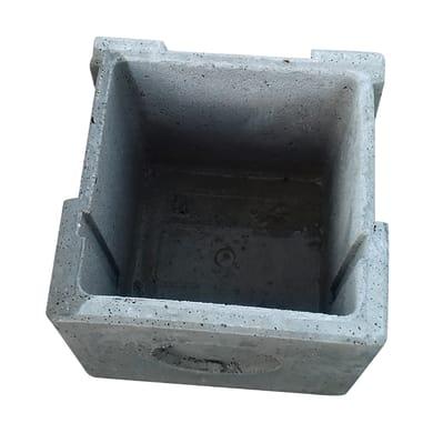 Pozzetto in cemento L 40 x H 40 cm