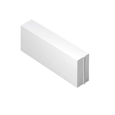 Blocco in calcestruzzo cellulare Siporex 62.5 cm, Sp 15 cm, bianco