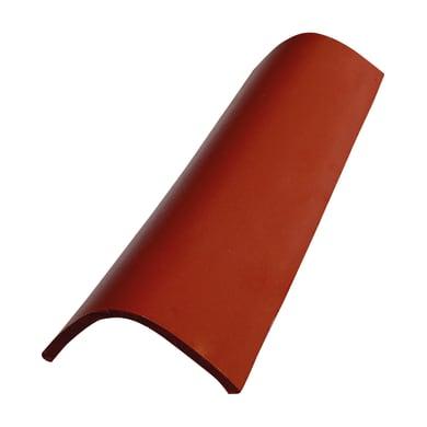 Coppo trafilato in argilla 45 x 18 cm rosso