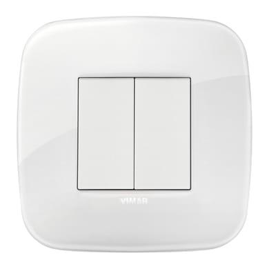 Comando smart Enocean VIMAR senza batteria Arké Round bianco