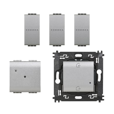Kit luci connesse BTICINO Starter Kit SNT1000KIT Livinglight per interno
