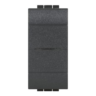 Deviatore Livinglight smart BTICINO nero