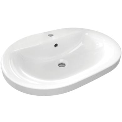 Lavabo in ceramica bianco