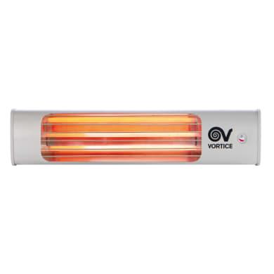 Stufa a infrarossi VORTICE Thermologika grigio / argento 600 W