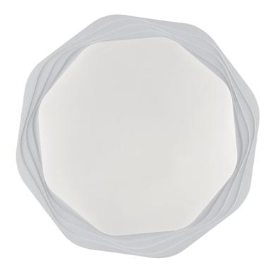 Plafoniera moderno Daisy LED integrato bianco, in acrilico,