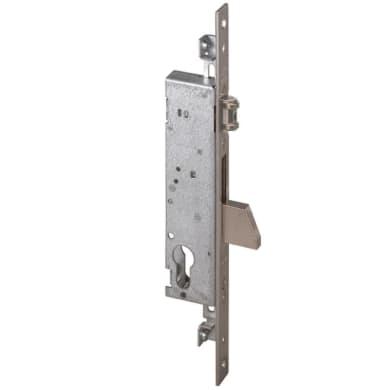 Serratura a incasso cilindro per cancello o rete, entrata 3 cm, interasse 172 mm