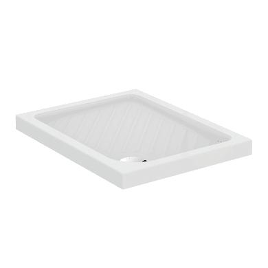 Piatto doccia ceramica Suite 70 x 90 cm bianco