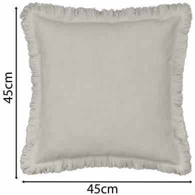 Cuscino INSPIRE Lucile beige 45x45 cm