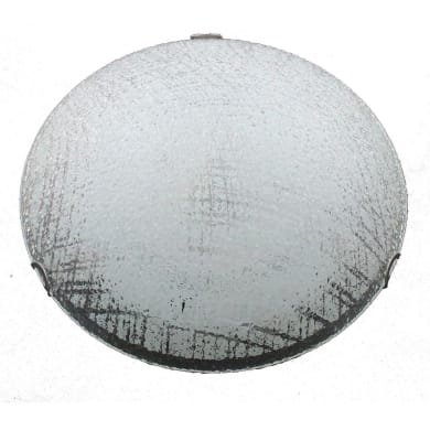 Plafoniera Wave LED integrato bianco, in vetro,