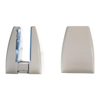 Reggimensola supporto pannelli 4-20 mm L 4 x H 6.5 x P 20 cm bianco