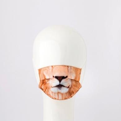 Maschera in tessuto lavabile per utilizzo non sanitario Baby leone