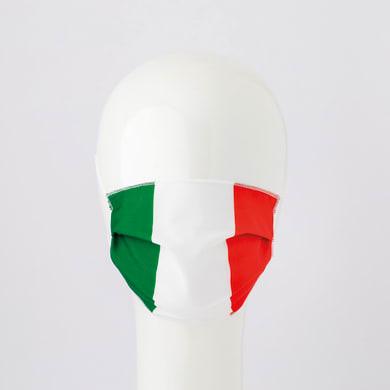 Maschera in tessuto lavabile per utilizzo non sanitario Vincente Tricolore