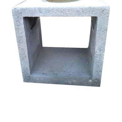 Prolunga in cemento L 40 x H 40 cm