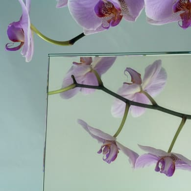 Vetro specchio verniciato trasparente Sp 4 mm