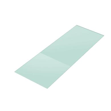 Vetro ripiano trasparente L 80 x H 200 cm, Sp 10 mm