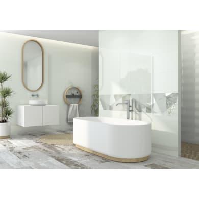 Rivestimento Boreal Blanco 31.5 x 100 cm sp. 8.7 mm bianco