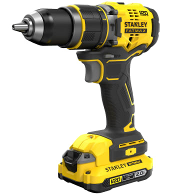 Trapano a batteria con percussione brushless STANLEY FATMAX 18 V, 2 Ah, 2 batterie