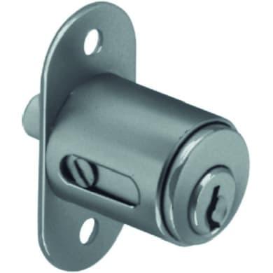 Serratura a incasso cilindro per per bagno/per camera, entrata 0 cm, interasse 0 mm