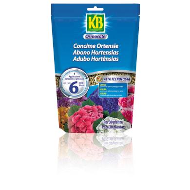 Concime per acidofile granulare KB OSMOCOTE confezionato in sacchetto (doypack) richiudibile da 750 g