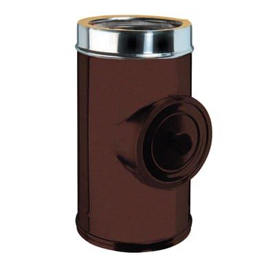 Raccordo per canna fumaria COTSIDPC08 in inox 316l (elevata resistenza in condizioni climatiche estreme) Ø 80 mm