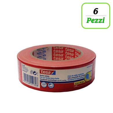 Nastro TESA tesa® Nastro Telato Gaffer 38 mm x 25 m rosso