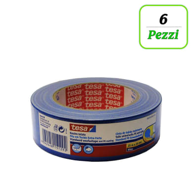 Nastro TESA tesa® Nastro Telato Gaffer 25 mm x 38 m blu