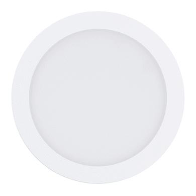 Faretto fisso da incasso tondo Fueva-CW in metallo, bianco, diam. 22.5 cm LED integrato 16W 1800LM IP20 EGLO