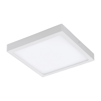 Plafoniera Fueva Connect LED integrato bianco, in metallo, 30x30 cm, EGLO