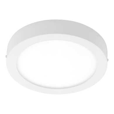 Plafoniera Fueva Connect LED integrato bianco, in metallo,  D. 22.5 cm EGLO
