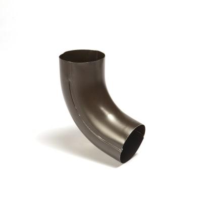 Curva pluviale in metallo Ø 100 mm
