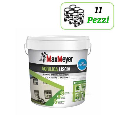 Vernice acrilica MaxMeyer Acrilica bianco 14 L