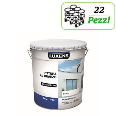 Pittura acrilica per facciate LUXENS 275031L580001 bianco 14 L