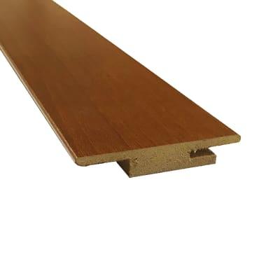 Coprifilo in legno  marrone L 63 x P 1 x H 225 mm