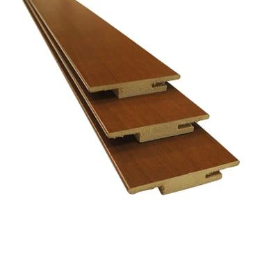 Kit coprifilo in legno  marrone L 6.3 x P 1 x H 225 mm